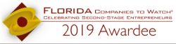 Footer Florida Companies to Watch 2019 Awardee