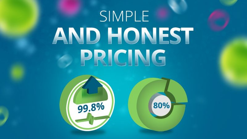 Video Image for Simple and Honest Pricing